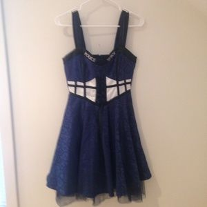 Dr. Who Police Box dress halloween costume